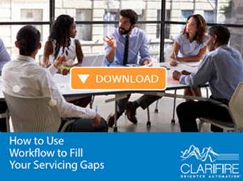 workflow to fill financial servicing gaps ebook
