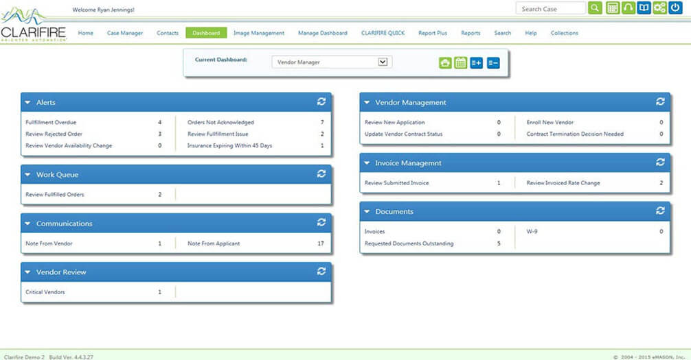 Vendor Management Dashboard